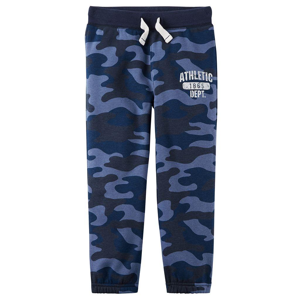 Boys 4-7 Carter's Basic Fleece Pants
