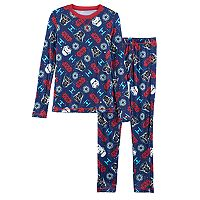 Boys 4-18 Cuddl Duds Star Wars 2 pc Baselayer Set