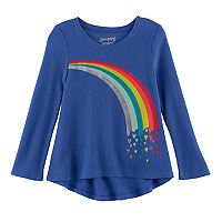 Toddler Girl Jumping Beans® High-Low Thermal Tunic