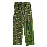 Boys 4-16 Minecraft Creeper Lounge Pants