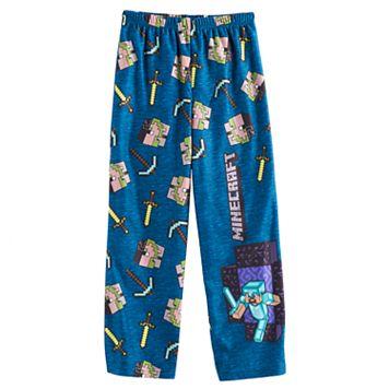 Boys 4-16 Minecraft Lounge Pants