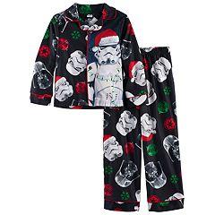Boys 6-12 Star Wars Holiday 2 pc Pajama Set