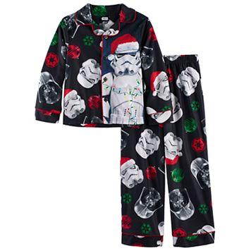 Boys 6-12 Star Wars Holiday 2-Piece Pajama Set