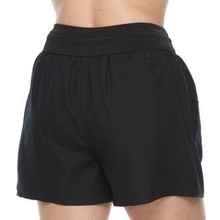 Plus Size Croft & Barrow® Tactel Drawstring Swim Shorts