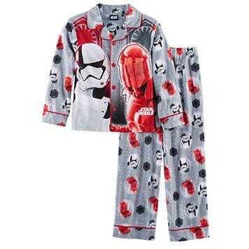 Boys 6-12 Star Wars: Episode VIII The Last Jedi 2-Piece Pajama Set