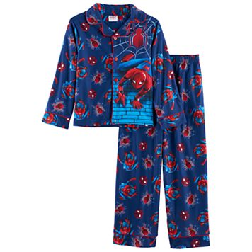 Boys 4-8 Marvel Spider-Man 2-Piece Pajama Set