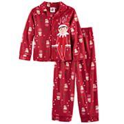 Boys 4-10 Elf On The Shelf 2 pc Pajama Set