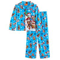 Boys 4-8 Paw Patrol 2-Piece Holiday Pajamas Set