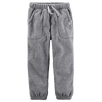 Boys 4-7 Carter's Fleece Pants
