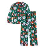 Boys 4-10 Sports 2 pc Pajama Set