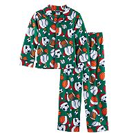 Boys 4-10 Sports 2-Piece Pajama Set