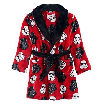 Boys 4-12 Star Wars Fleece Robe