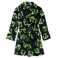 Boys 6-12 Minecraft Creeper Fleece Robe