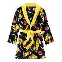 Boys 6-12 Pokemon Fleece Robe