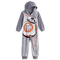 Boys 4-10 Star Wars BB-8 Union Suit