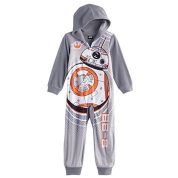 Boys 4-10 Star Wars BB-8 Union Suit
