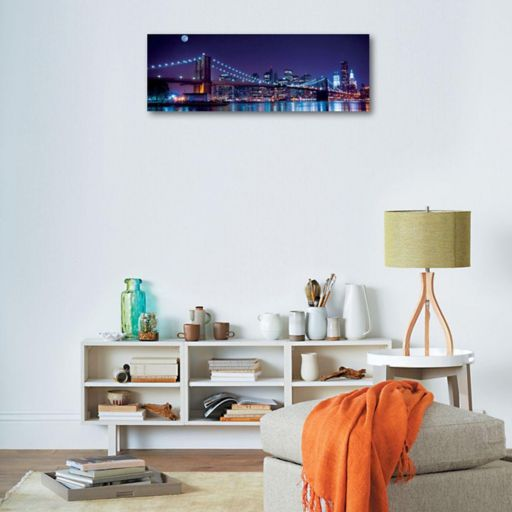 Art.com Brooklyn Bridge & Manhattan Skyline Wall Art Print