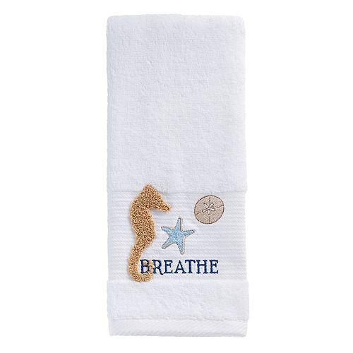 Bacova Seahorse Hand Towel