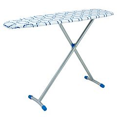 Household Essentials Geometric Euro Arch T-Leg Ironing Board