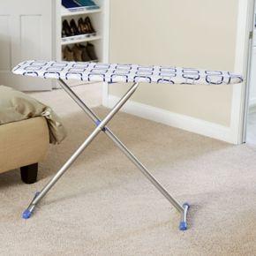 Household Essentials Geometric Euro Arch T-Leg Ironing Board
