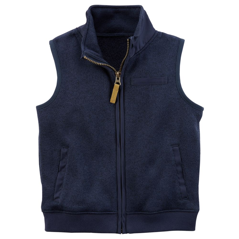 4-7 Carter's Zip-Up Sweater Vest