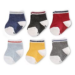 Baby Boy Carter's 6 pkPrimary Colors Crew Socks