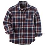 Boys 4-7 Carter's Plaid Button-Down Shirt