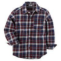 Boys 4-7 Carter's Plaid Button-Down Shirt