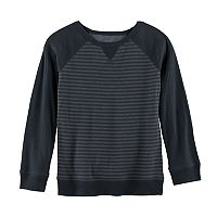 Boys 4-7x SONOMA Goods for Life™ Striped Raglan Tee