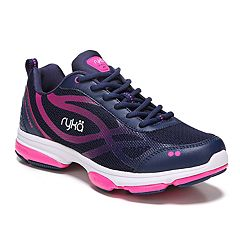534b6cdf29c7ec Ryka Devotion XT Women s Cross Training Shoes. Black Blue Pink Gray Lime  Gray