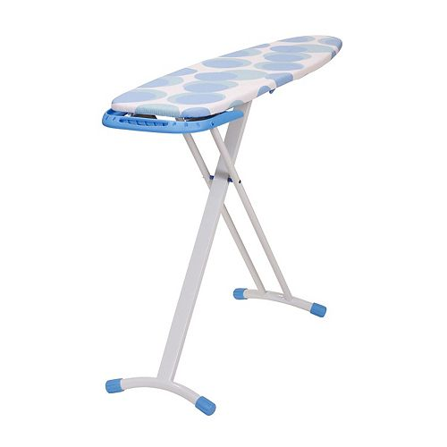 Household Essentials Circles Euro Arch T-Leg Ironing Board