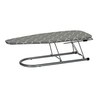 Household Essentials Silver-Tone Tabletop Ironing Board