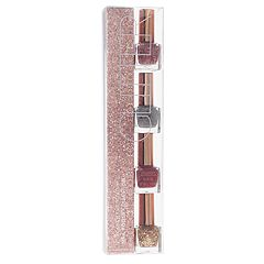 Academy of Colour Glitter Stacked 4 pc Nail Polish Set