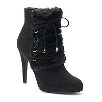 Jennifer Lopez Madeira Women's High Heel Ankle Boots