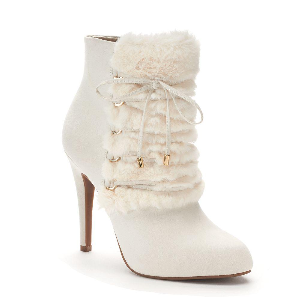 Jennifer Lopez Madeira Women's High Heel Ankle Boots