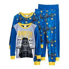 Boys 4-10 LEGO Star Wars Darth Vader 4 pc Pajama Set