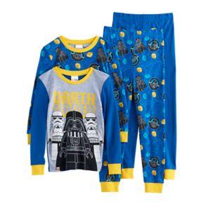 Boys 4-10 LEGO Star Wars Darth Vader 4-Piece Pajama Set