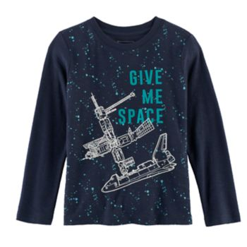 Boys 4-7x SONOMA Goods for Life? Glow-in-the-Dark Space Ship Graphic Tee