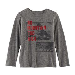Boys 4-7x SONOMA Goods for Life™ 'No Mountain Too High' Graphic Tee