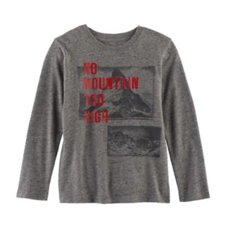 """Boys 4-7x SONOMA Goods for Life™ """"No Mountain Too High"""" Graphic Tee"""