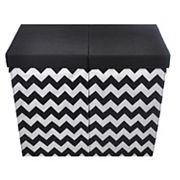 Modern Littles Folding Double Laundry Bin