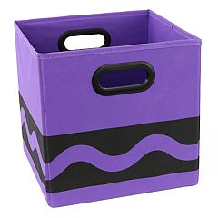 Crayola Black Serpentine Storage Bin