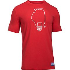 Men's Under Armour Chicago Bulls Charged State Tee