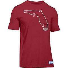 Men's Under Armour Miami Heat Charged State Tee