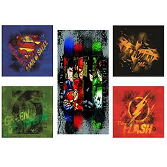 DC Comics Justice League 5-pc. Canvas Print Wall Art Set