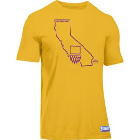 Men's Under Armour Los Angeles Lakers Charged State Tee