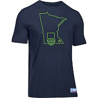 Men's Under Armour Minnesota Timberwolves Charged State Tee