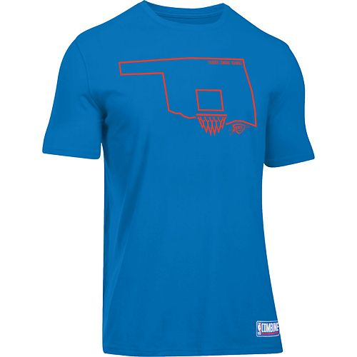 Men's Under Armour Oklahoma City Thunder Charged State Tee