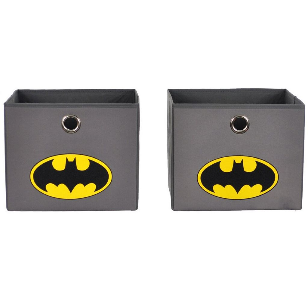 DC Comics Batman Closet Hanging Organizer & Storage Bin Set