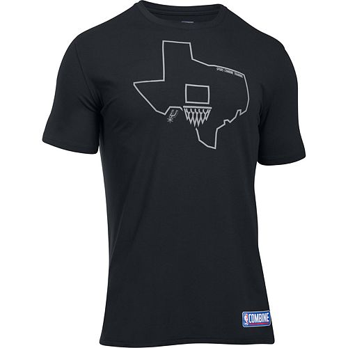 Men's Under Armour San Antonio Spurs Charged State Tee
